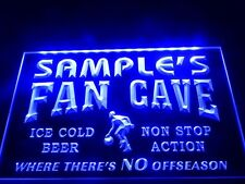 Name Personalized Custom Basketball Fan Home Bar Beer Man Cave Neon Sign