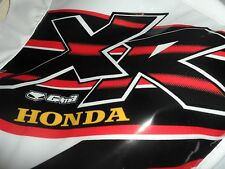 TANK COVER HONDA XR 400R 1999 FUNDA ..FREE SHIPPING WORLDWIDE