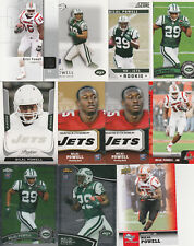Bilal Powell Jets 60 card Rookie lot all 2011 rookies Rc