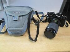 Vintage Ricoh KT-5 Super 35mm Camera & Lens & Case