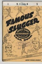 Famous Slugger for 1945 Boudreau/Walker cover F/VF  >CuRaTeD vInTaGe<