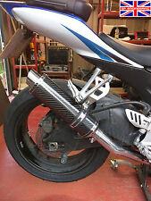 SUZUKI GSXR600 K6-K7 06-07 SP Engineering FIBRA DI CARBONIO ROUND MOTO GP SCARICO XLS