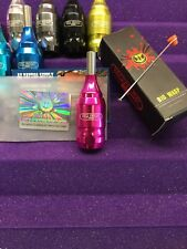 BIG WASP fully adjustable tattoo machine cartridge grip , aluminum in HOT PINK