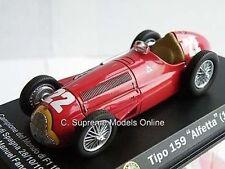 ALFA ROMEO TIPO 159 Alfortville AUTO FANGIO 1951 1/43 MODELLO ROSSO tema k9786q ~ # ~