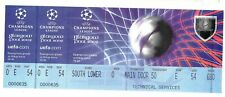 Champions League Final 2002 ticket Real Madrid v Bayer Leverkusen in Glasgow