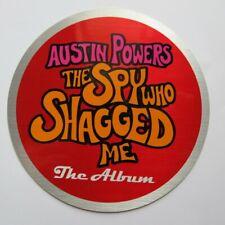 Austin Powers The Spy Who Shagged Me The Album Promo Sticker 1999 Decal