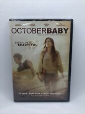 October Baby: Every Life is Beautiful 2012 Dvd Brand New Sealed