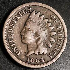 1864 INDIAN HEAD CENT - Copper Nickel CN - GOOD