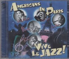 "Americans In Paris ""Vive Le Jazz"" 2CD Set NEW & SEALED 1st Class Post From UK"