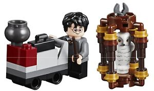 LEGO Harry Potter and Hedwig Owl minifigs Hogwarts Movie Book New Unique Rare