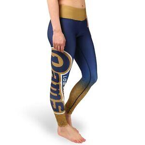 FOCO NFL Women's Los Angeles Rams Gradient Print Leggings