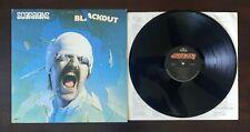 New listing SCORPIONS BLACKOUT LP EX INNER SLEEVE ORIGINAL SRM-1-4039 MERCURY 1982 SCHENKER