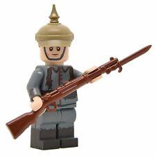 Lego Custom WW1 GERMAN SOLDIER Early War- Full Body Printing -NEW-