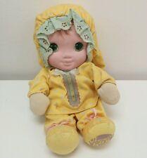 Vintage 1986 Jammie Pies Pie Yellow Playskool Ditty Baby Plush Doll Hallmark