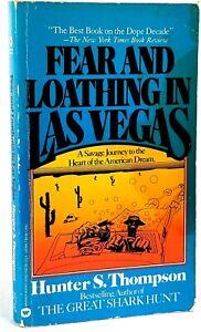 Fear and Loathing in Las Vegas, Hunter S. Thompson  1st Warner Books Print 1982