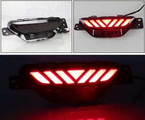Rear Bumper center decoration led brake light 1pcs For Toyota C-HR CHR 2019-2020