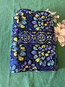 Vera Bradley Indigo Pop Folding Baby Changing Pad Clutch Mat