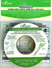 5mm Clover Fusible Web Tape 25m - each (CL4041)