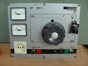 Regeltrenntransformator Trenntrafo  Nordmende 6,3 -4,0A  0-250 V