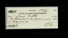 Gen Robert E. Lee Autograph & Check Reproduction On Fine Linen Paper