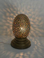 lampe de chevet Marocaine laiton lanterne photophore décoration bougeoir 35 cm !