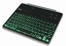 Zotech Illuminated Ultrathin Bluetooth Wireless Keyboard Aluminum Cover With ..