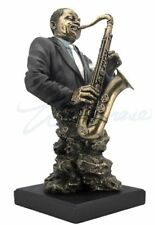 Jazz Band Collection -Saxophone Bust Sculpture Musician Statue Figure