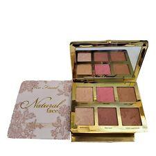 💚 Too Faced Natural Face Highlight, Blush, Bronzing Veil Face Palette NIB Auth