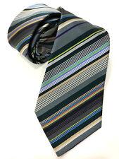 Paul Smith multi-rayures Cravate Fait en Italie très rare multi-rayures 8cm lame