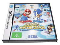 Mario & Sonic at the Olympic Winter Games Nintendo DS 3DS Game *Complete*