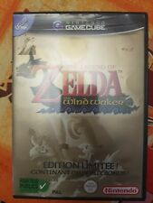Zelda the wind waker edition limitee PAL Fra 1 CD ocarina of time GameCube