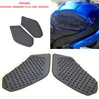 Anti Slip Tank Pad Side Gas Protector For Honda  CBR600RR 2003 2004 2005 2006