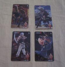 2004 SAMMY GUILTY GEAR ISUKA ID CARDS SET 4
