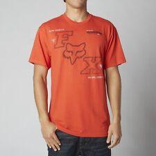 official photos dbc86 7ed99 Fox Racing Blockade s s Tee Shirt Blood Orange