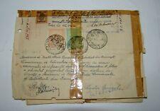 Jewish Judaica Romania Romanian travel documents post stamps 1930-1947 WW2