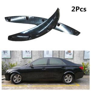 Car Wheel Eyebrow Arches Lip Fender Mud Flaps Splash Guards Protector Trim Cover