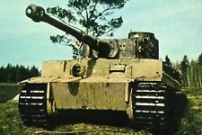 WW2 - Russie - Char allemand Pzkw VI Tiger