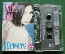 Betty Boo Boomania inc Doin' the Do & Mumbo Jumbo + Cassette Tape - TESTED