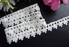 Venise Lace, 5/8 inch wide ivory color selling by the yard