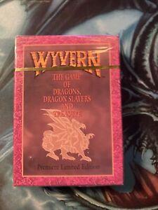 Wyvern CCG Card game Premiere Limited Edition Starte Deck Sealed