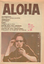 MAGAZINE ALOHA 1974 nr. 25 - DEMIS ROUSSOS / NICO HAASBROEK / TONIA