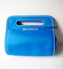 Go Smile Carrying Nylon Case/Make-Up Bag - NWOT