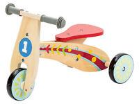 Playtive Kids IN LEGNO EQUILIBRIO bimbo triciclo bicicletta per bambini in legno