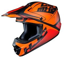 Motorcycle Helmet Cross HJC Cs-Mx II Ellusion Mc7 Orange Motard Off Road Casque