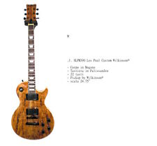 Chitarra Elettrica Les Paul M.J. SLPM 390 con Pickup Wilkinson ®