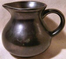Prinknash Dark Brown Pottery Milk Jug