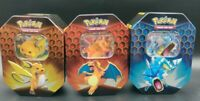 Pokemon Hidden Fates Tin & Promo Card Only Raichu Charizard Gyrados