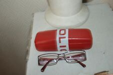 LUNETTE DE VUE  POLICE GAFAS/GLASSES BE JUNIOR ENFANT + ETUI RIGIDE