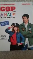 Cop and a Half: New Recruit (DVD,2017,Widescreen) Brand New Factory Sealed! USA!