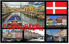 COPENHAGEN, DENMARK - SOUVENIR NOVELTY FRIDGE MAGNET - NEW - GIFT / XMAS